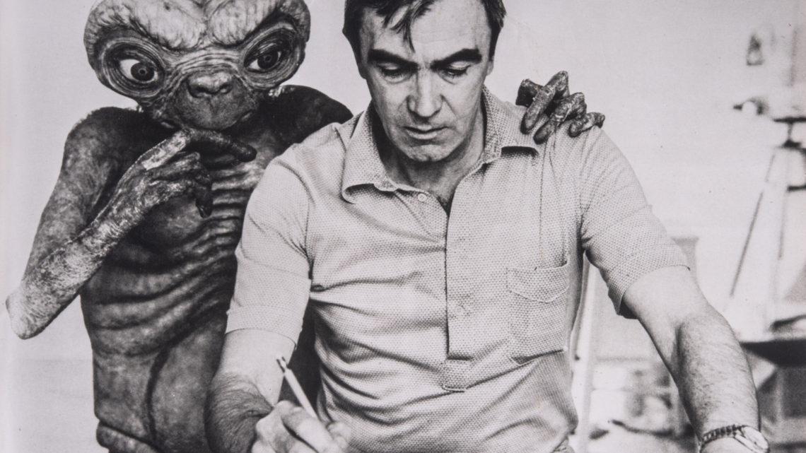 Carlo Rambaldi con ET